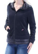 Tommy Hilfiger Sport Women's Hooded jacket Coat Navy Size L NEW