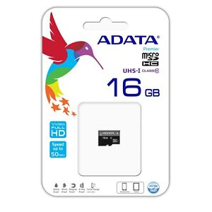 16GB Micro SD Card Class 10 TF Flash Memory Android Smart Watch CellPhone Tablet