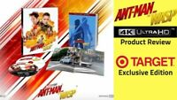. Ant-Man And The Wasp (4K, Blu-Ray) Target Exclusive (No Digital)