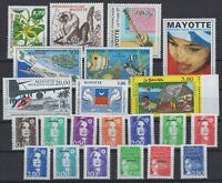 BG142562/ MAYOTTE – Y&T # 32 / 51 - PA1 / PA2 MINT MNH – COMPLETE YEAR 1997