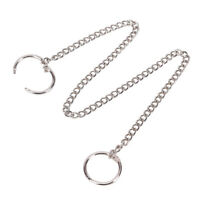 38cm*Long Metal Keychain Key Wallet Belt Ring Clip Pant Jean Trucker Waist-CHQA