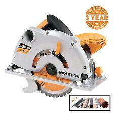 Evolution Power Tools RAGE-B 7-1/4-Inch Multipurpose Cutting Circular Saw