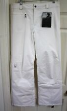 NEW SPYDER WOMEN SKI SNOWBOARD PANTS INSULATED SIZE 12 L $190