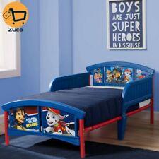 Kids Paw Patrol Toddler Bed Bedroom Furniture Safety Rails For Boy Baby Children