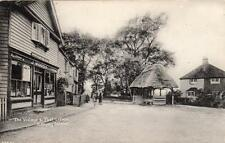 Village & Post Office Canvey Island old pc used about 1920 J Woods