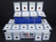 Lot of 20 Random Year 1¢ & 5¢ PCGS Case and slabbed coins