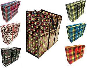 Extra large jumbo LAUNDRY shopping bags children's toy storage reusable bags