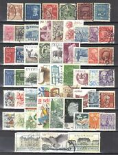 Sweden-page of stamps.