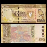 Sri Lanka 5000 Rupees, 2016, P-128d, Banknote, UNC