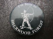Sherwood Forest Pin Badge Button Souvenir Tourist (L5B)