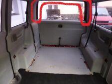 VW T4 Verkleidung Fensterrahmen Heckklappe Heckdeckel (weiß)