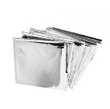 4 Pack Emergency Solar Blanket Survival Safety Insulating Mylar Thermal Heat