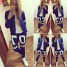 Damen Jogginganzug Trainingsanzug Kapuzenpullover Hoodie Sweatshirt Sportanzug