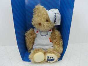 THOMAS THE TANK & FRIENDS PLUSH CONDUCTOR TEDDY BEAR  -  New in Box