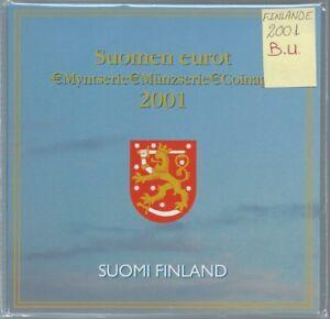 Finlande - Coffret Brillant Universel 2001