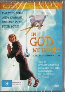 IN GOD WE TRUST - NEW & SEALED DVD - FREE LOCAL POST