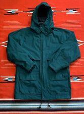 Vintage Eddie Bauer Gore Tex Green Parka Jacket Size Medium
