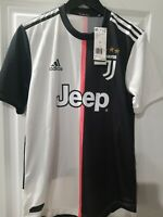 Adidas Authentic Juventus Home Soccer Jersey Men's Small $130 DW5456 Black White