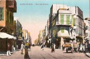 [22557] Alexandrie - Rue des Soeurs - Egypt - Early 1900s
