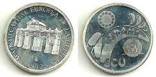 MONEDA DE 1 ECU DE 1992 PLATA SILVER SILBER (PROOF QUALITY)