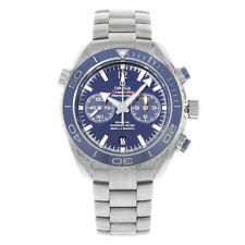 Omega Seamaster Planet Ocean Titanium Blue Dial Mens Watch 232.90.46.51.03.001