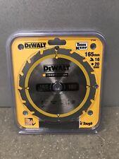 Dewalt DT1948 costruzione Lama 165 mm x 20 mm x 16 T