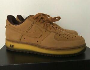 *Sz 10* New Mens Nike Air Force 1 Low Sneakers Retro Wheat Dark Mocha DC7504-700