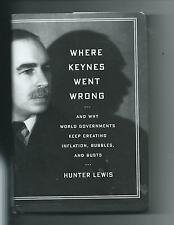 Where Keynes Went Wrong : And Why World Governments Keep Creating Inflation HBDJ
