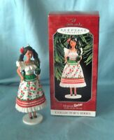BARBIE ORNAMENT 1998 Mexican Hallmark Keepsake Barbie Dolls of the World #3