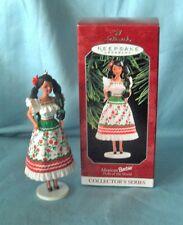 1998 Mexican BARBIE Ornament Hallmark Keepsake Barbie Dolls of the World #3