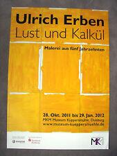 Ulrich eredi-esposizione MANIFESTO - 2012-Museo Küppersmühle