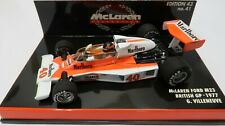 McLaren COLLECTION #41 M23 Ford Marlboro 1977 G. Villeneuve Minichamps 1:43