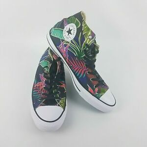 Converse Chuck Taylor All Star Palm Tree Floral Glow Sneakers 155393C Size 11