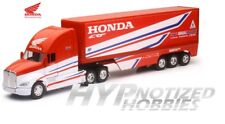 NEWRAY 1:32 KENWORTH TRAILER TEAM HONDA HRC RED 10893