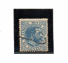 España Valor fiscal postal del año 1886 (BW-36)