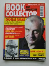 Book Collector 228 March 2003  Douglas Adams, Simenon, Lorna Hill, Nigel Tranter