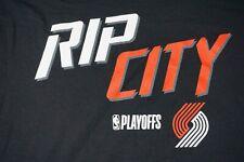 Fanatics RIP CITY Playoffs NBA Portland Trailblazers Mens SZ 2XL T-Shirt  NWT