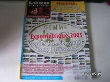 **f Loco revue n°702 Expométrique 2005 /  BB 67400 Piko / gare d'eau de Roanne