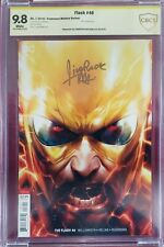 The Flash #46 Zoom Cover B Variant NM/MT 9.8 CBCS Signed by Mattina DC cgc