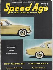1953 Speed Age Magazine April Issue