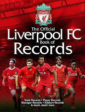 The Official Liverpool FC Book of Records - New Book Jeff Anderson