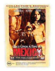 Once Upon a Time in Mexico Collector's Edition (DVD, 2003) Antonio Banderas R4