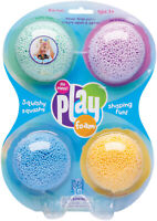 PlayFoam Classic 4 Pack - Kids Mess Free Modelling Play Foam for Children