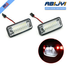 LED License Plate Lights For Subaru Forester Impreza WRX STI XV Crosstrek Legacy