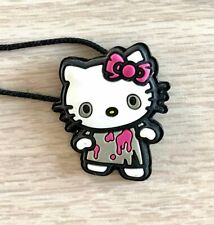 RARE Hot Topic Hello Kitty Halloween Zombie Necklace Goth Vintage Collectible