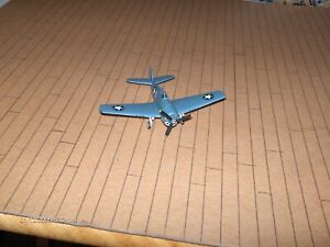 Built kit of a Grumman F6F Hellcat carrier based USN WW2 fighter in 1/144 scale