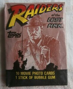 Wax Pack 1981 Raiders of The Lost Ark