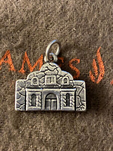 James Avery Sculptured Alamo Charm Sterling Silver