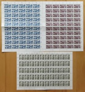 Österreich Sondermarken-Bogen 3 Stück (IZ5352), alle Bogen postfrisch**