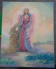 Angel Spirit. Original 16×20 Acrylic on canvas signed Robin King artist